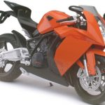 KTM RC8 Orange Motorcycle Model 1/12 by Automaxx