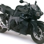 BMW K1300R Black Motorcycle Model 1/12 by Automaxx