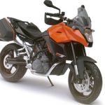 KTM 990 SM-T Orange Motorcycle Model 1/12 by Automaxx
