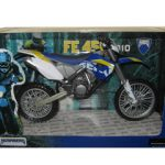 2010 Husaberg FE 450 Blue Dirt Bike Motorcycle Model 1/12 by Automaxx