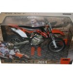 2014 KTM 450 SX-F Motorcycle Model 1/12 by Automaxx