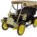 1905 Buick Model C Touring Black 1/32 Diecast Car Model by Arko Products