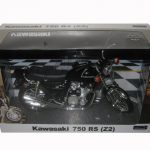 Kawasaki 750 RS (Z2) Black Motorcycle Model 1/12 by Automaxx