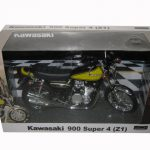 Kawasaki 900 Super 4 (Z1) Yellow Motorcycle Model 1/12 by Automaxx