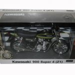 Kawasaki 900 Super 4 (Z1) Green Motorcycle Model 1/12 by Automaxx