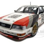 Audi V8 Quattro #46 Frank Jelinski Team SMS Motorsport DTM 1990 1/18 Diecast Model Car by Minichamps