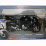 BMW S1000RR Black Motorcycle Model 1/12 by Automaxx