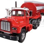 Mack R-Model with 42 Water Tank Trailer Madison Fire Co. 1/64 Diecast Model by First Gear
