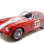 1960 Lotus Elite #37 Red 1/18 Diecast Model Car by Road Signature