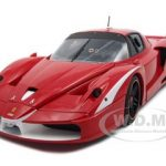 Ferrari FXX Evoluzione Evo Official GT Red Elite Edition 1/18 Diecast Model Car by Hotwheels