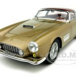 Ferrari 410 Superamerica Elite Edition Gold 1/18 Diecast Model Car by Hotwheels