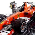 2006 Ferrari 248 Michael Schumacher Anatomy Of Champion 1/18 Diecast Model Car by Hotwheels