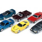 Autoworld Muscle Cars Deluxe Set Of 6 Cars Release 2 1/64 Diecast Model Cars by Autoworld