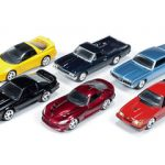 Autoworld Muscle Cars Deluxe Set Of 6 Cars Release 2 1/64 Diecast Cars by Autoworld