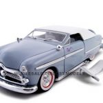 1949 Ford Convertible Blue 1/24 Diecast Car by Unique Replicas