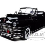 1948 Chrysler New Yorker Convertible Black 1/18 Diecast Car Model by Signature Models