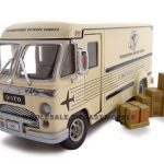 1961 Divco Di Vidend Step Van Cream 1/34 Diecast Model Car by Unique Replicas