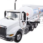 International 8600 GULF with 42 Fuel Tank Trailer 1/64 Diecast Model by First Gear
