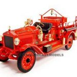 1923 Maxim C-2 Fire Truck 1/24 Diecast Model Car by Road Signature