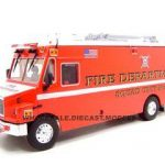 Freightliner MT-55 EMT Fire Truck Red 1/32 Diecast Car by Unique Replicas