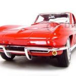 1965 Chevrolet  Corvette Red 1/18 Diecast Model Car by Maisto