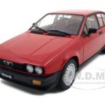 1980 Alfa Romeo Alfetta GTV 2.0 Red 1/18 Diecast Model Car by Autoart