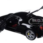 Alfa Romeo 4C Gloss Black 1/18 Model Car by Autoart