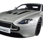 2015 Aston Martin V12 Vantage S Meteorite Silver 1/18 Diecast Model Car by Autoart