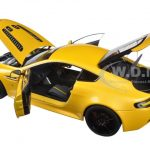 2015 Aston Martin V12 Vantage S Yellow Tang 1/18 Diecast Model Car by Autoart