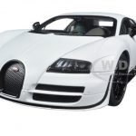 Bugatti Veyron Super Sport Pur Blanc Edition 1/18 Diecast Model Car by Autoart