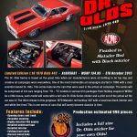1970 Oldsmobile 442 Dr. Olds Series #3 Matador Red Limited Edition to 996pcs 1/18 Diecast Model Car by Acme