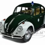 1967 Volkswagen Beetle Kafer Stuttgart Germany Police Car 1/18 Diecast Model Car by Greenlight