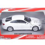BMW 4 Series F32 M-Sport Package White 1/24 Diecast Model Car by New Ray