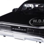 1966 Pontiac GTO Black 1/25 Diecast Model Car by New Ray