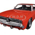 1969 Dodge Charger R/T Orange 1/25 Diecast Car Model by New Ray