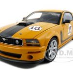 Parnelli Jones Saleen Mustang #15 Orange 1/18 Diecast Model Car by Autoart