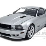 2007 Saleen Mustang S281 Extreme Silver Diecast Car Model 1/18 Die Cast Car by Autoart