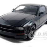 2008 Ford Mustang GT Bullitt Black 1/18 Diecast Model Car by Autoart