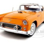 1956 Ford Thunderbird Orange 1/18 Diecast Model Car by Motormax