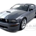 2007 Ford Mustang GT Grey Apperance Package Tungsten Grey Metallic 1/18 Diecast Car Model  by Autoart