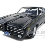 1969 Pontiac GTO Judge Black 1/18 Diecast Car Model by Motormax