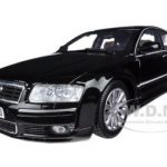 2004 Audi A8 Black 1/18 Diecast Car Model by Motormax