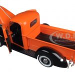 1940 Ford Pickup Truck Orange Timeless Classics 1/18 Diecast Model by Motormax