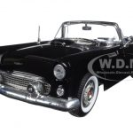 1956 Ford Thunderbird Black Timeless Classics 1/18 Diecast Model Car by Motormax