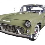 1956 Ford Thunderbird Green 1/18 Diecast Car Model by Motormax