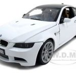 BMW M3 E92 Coupe White 1/18 Diecast Model Car by Motormax