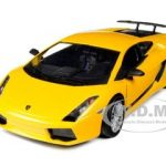 Lamborghini Gallardo Superleggera Yellow 1/24 Diecast Car Model by Motormax