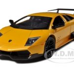Lamborghini Murcielago LP 670 4 SV Yellow 1/24 Diecast Model Car by Motormax