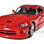 Dodge Viper GTS Coupe Red 1/24 Diecast Model Car by Bburago