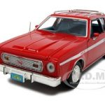 1974 AMC Gremlin X Red 1/24 Diecast Model Car by Motormax